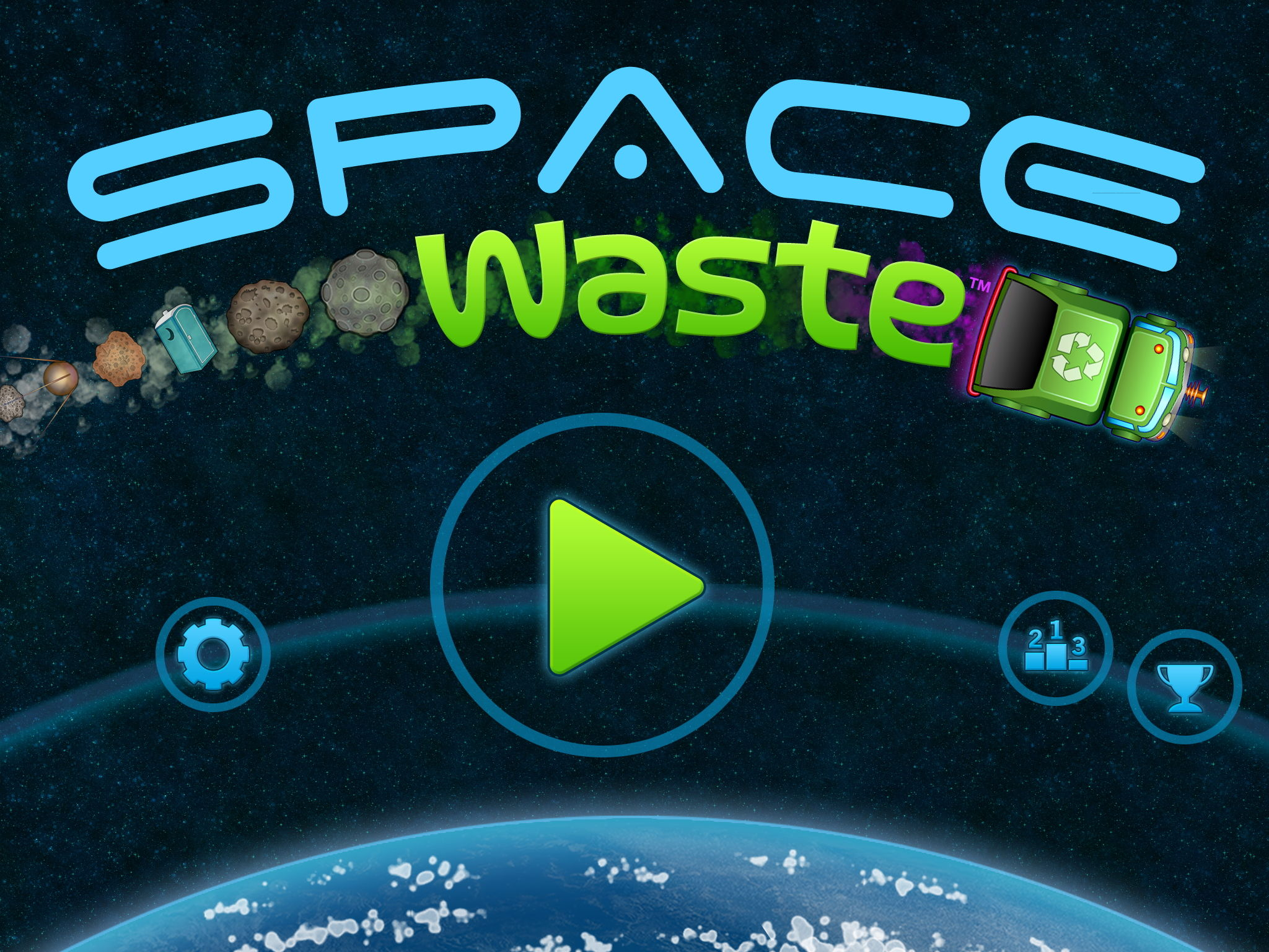 Space Waste Title